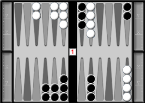 Simple reference position for pip counting
